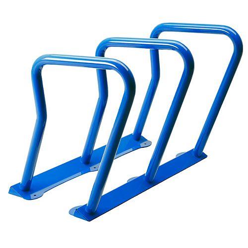 Supports à vélo (6) Surf Bleu