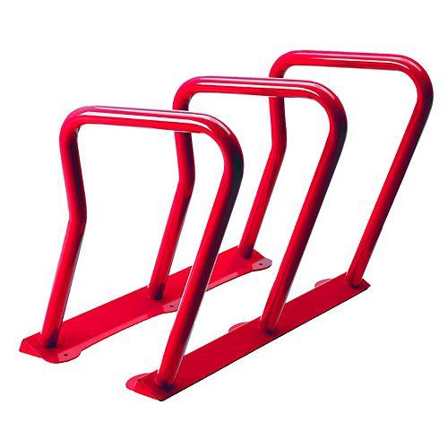 Supports à vélo (6) Surf Rouge