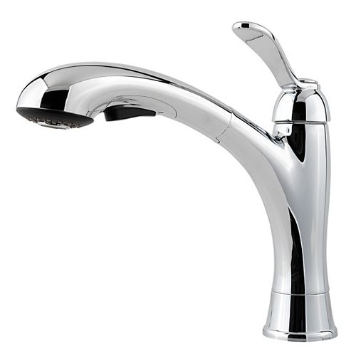 Clairmont Kitchen Pull Out Faucet in Stainless Steel
