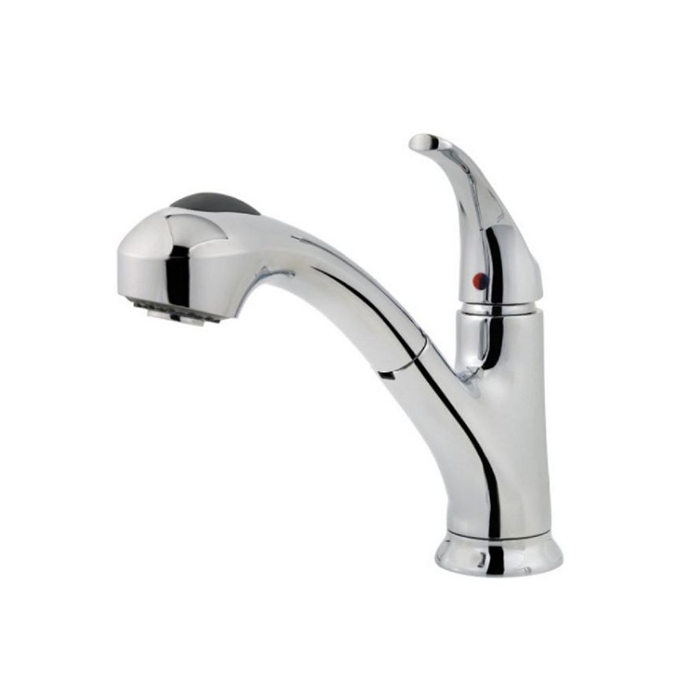 Pfister Shelton Kitchen Pull Out Faucet in Polished Chrome