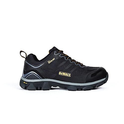 Crossfire Low Men Size 9(W) Black Kevlar Aluminum Toe/ Composite Plate Athletic Work Shoe