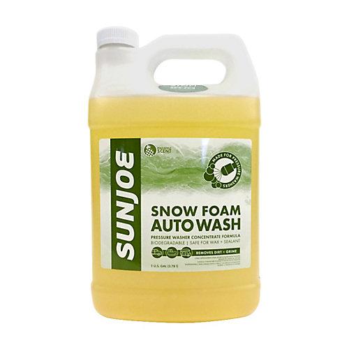 Mousse de neige pour les nettoyeurs haute pression équipés d'un canon à mousse senteur ananas 3,78l