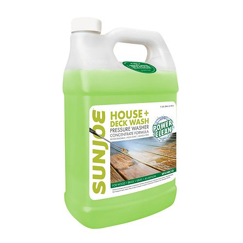 3.8L House and Deck All-Purpose Pressure Washer Rated Concentrated Cleaner