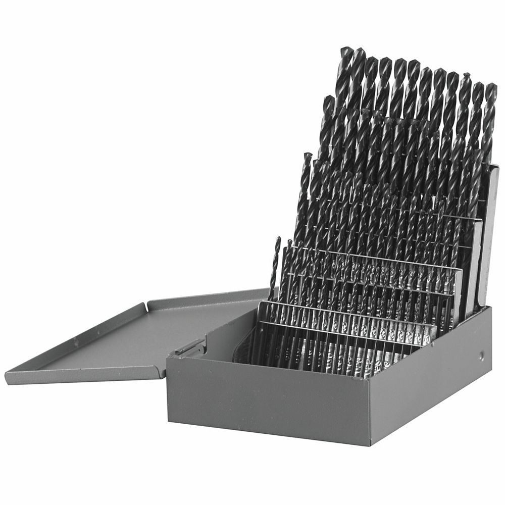 Bosch Ensemble de 60forets à index de métal en oxyde noir