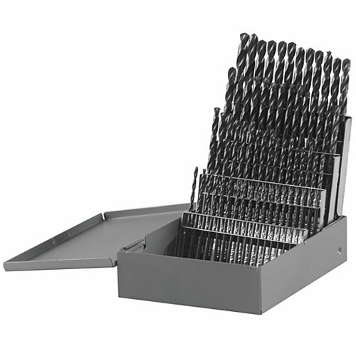 Bosch 60-Piece Metal Index Black Oxide Drill Bit Set
