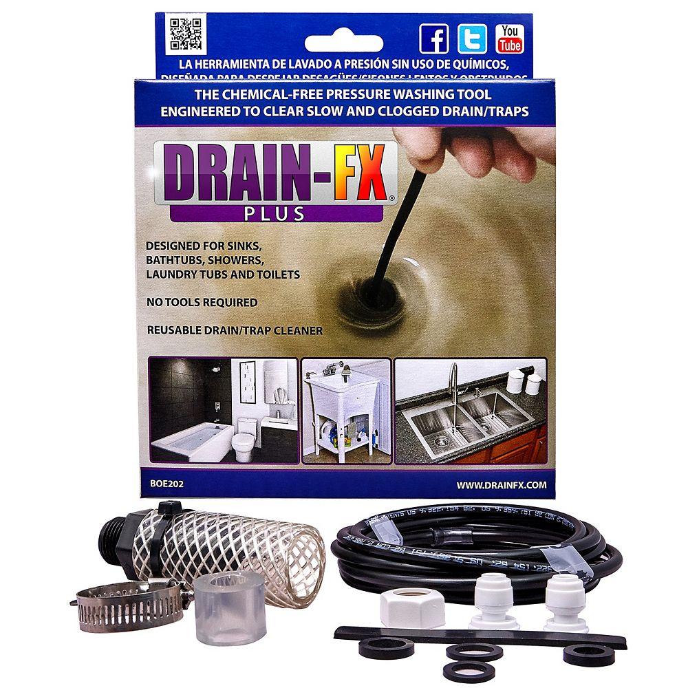 Drain-Fx Plus Outil de déblocage de drain