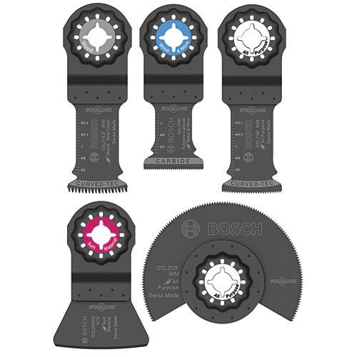 Starlock Oscillating Multi-Tool Accessory Blade Set (5-Piece)