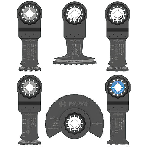 Starlock Oscillating Multi-Tool 6-Piece Accessory Blade Set