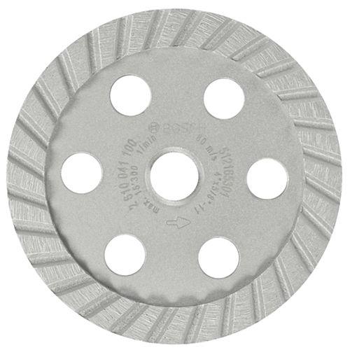 4-inch Turbo Diamond Cup Wheel