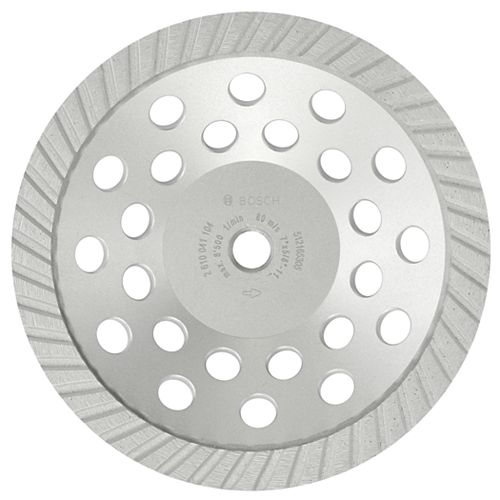 7-inch Turbo Diamond Cup Wheel