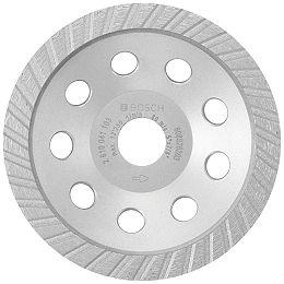 Meule assiette diamantée turbo de 5 po pour béton