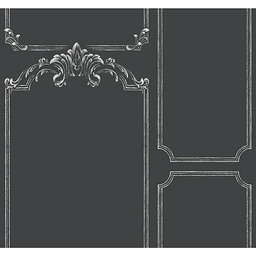 Magnolia Home Tableau a craie - Noir papier peint amovible