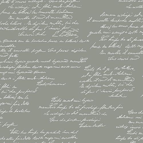 Magnolia Home - Remarquable - Gris Foncé - Papier peint amovible
