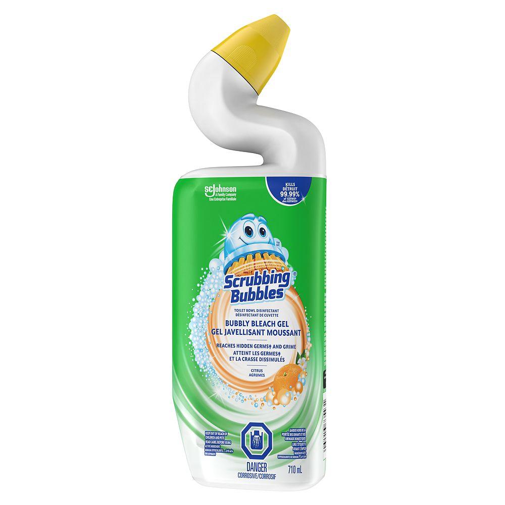 Scrubbing Bubbles Bubbly Bleach Gel Toilet Bowl Cleaner (Citrus)