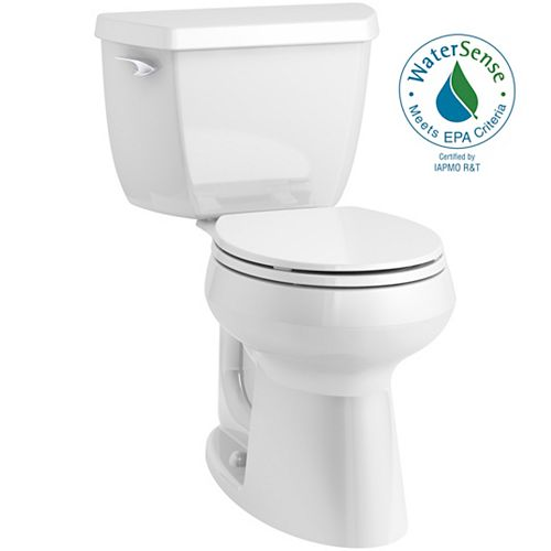 Highline Classic Complete Solution 1.28 gpf Comfort Height round-front toilet