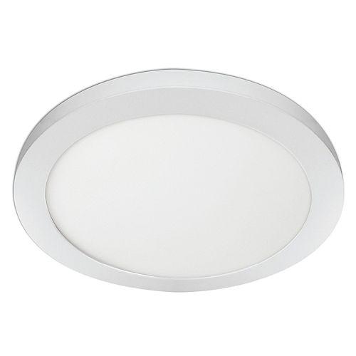 15 po. 22,5 W Réglable DEL blanche Plafonnier rond à panneau plat à éclairage encastré Changement de couleur CCT