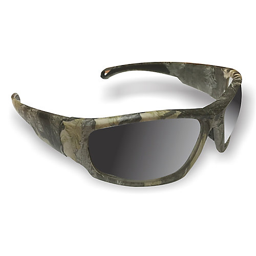 Camouflage sport frame safety glasses
