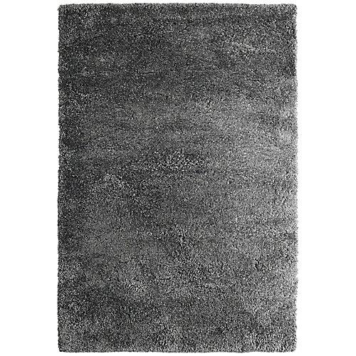 ultra gris charcoal 8 pi. X 10 pi. tapis intérieur
