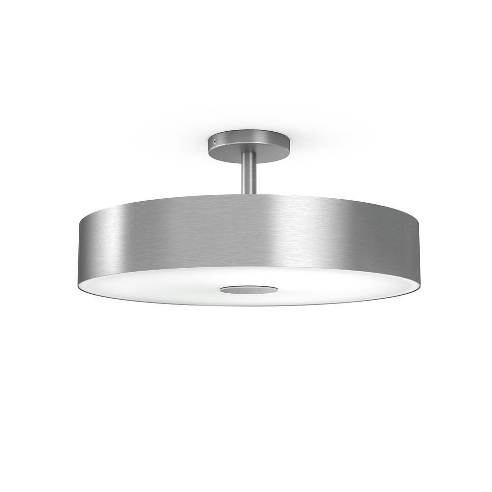 Philips HUE Fair Ceiling Lamp Aluminium SemiFlush