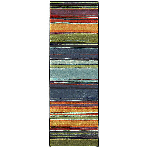 Rainbow 2 ft. x 5 ft. Multi-Coloured Runner