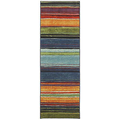 Rainbow 2 ft. x 5 ft. Multi-Coloured Runner