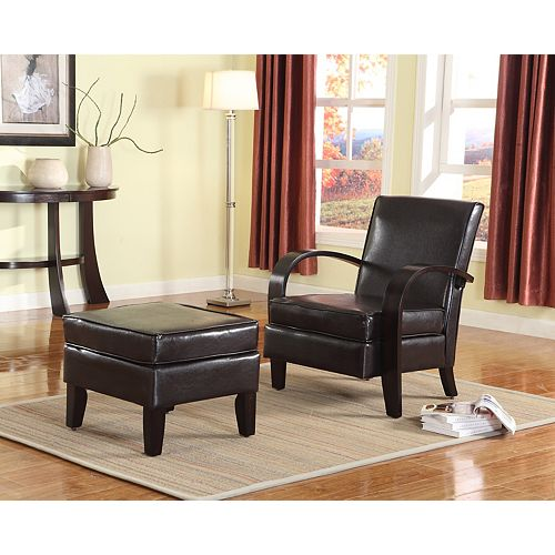 Verona Accent Chair, Espresso