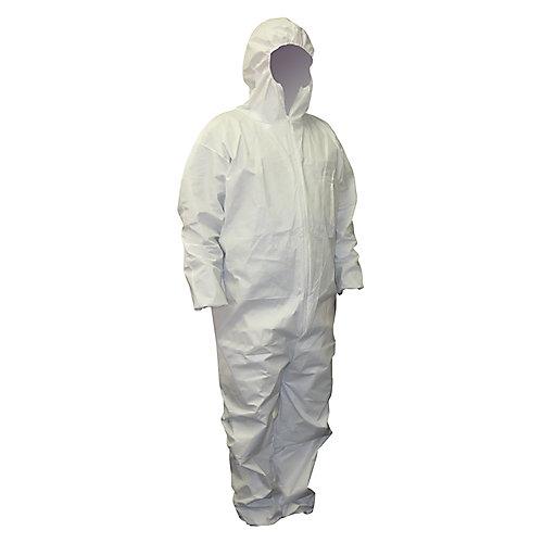 Polypropylene disposable coverall
