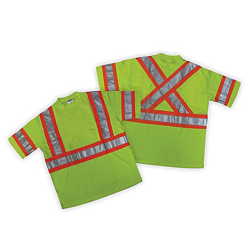 Hi-Viz Green T-Shirt - XL