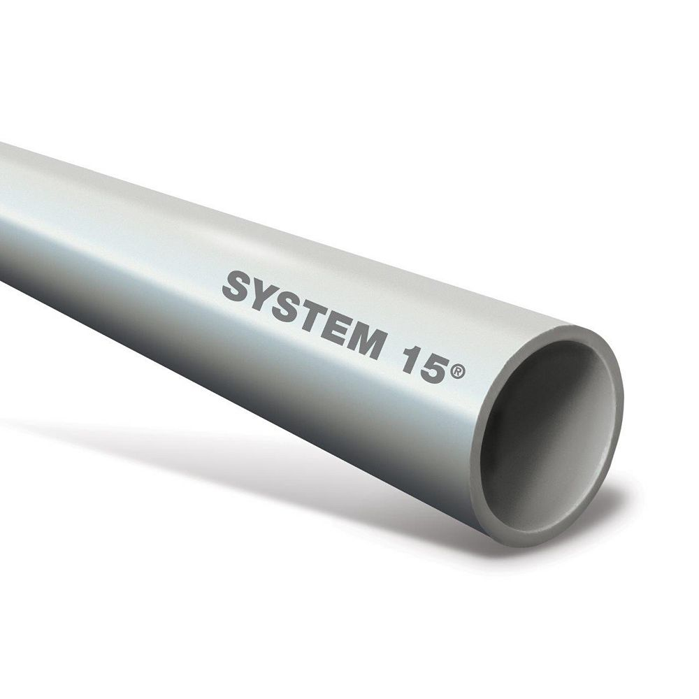 System 15 1 1/2 inch  X 6 ft. PVC DWV Pipe