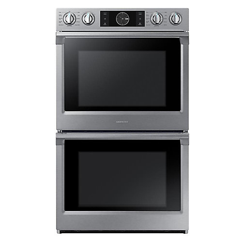 30-inch Double Oven Electric Range with Dual Convection in Stainless Steel