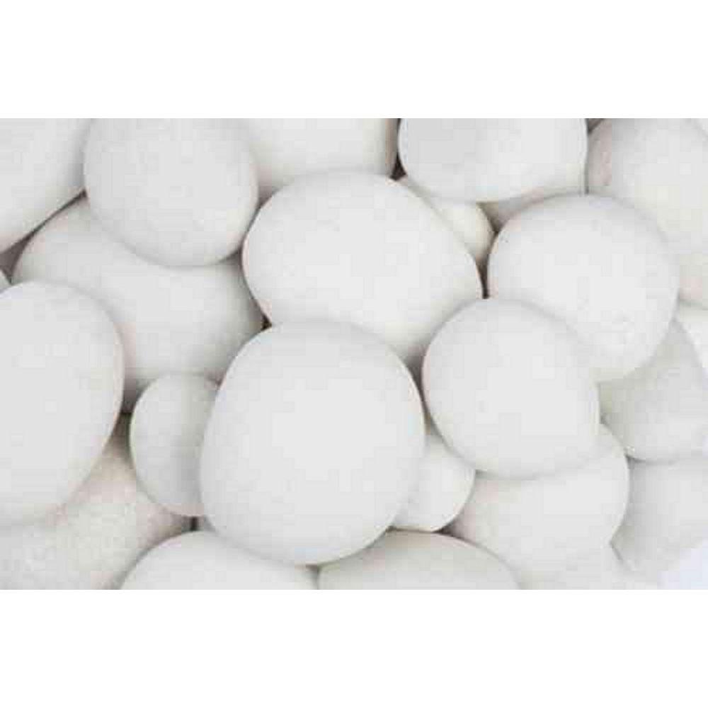 Vigoro 9.07 kg White Pebbles