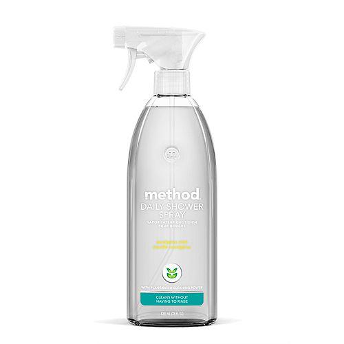 Daily Shower Spray Cleaner, Eucalyptus Mint, 28 Ounce
