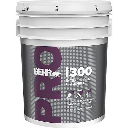 Behr Pro i300 Series Interior Paint Eggshell No. PR330 - Deep Base, 18.9L