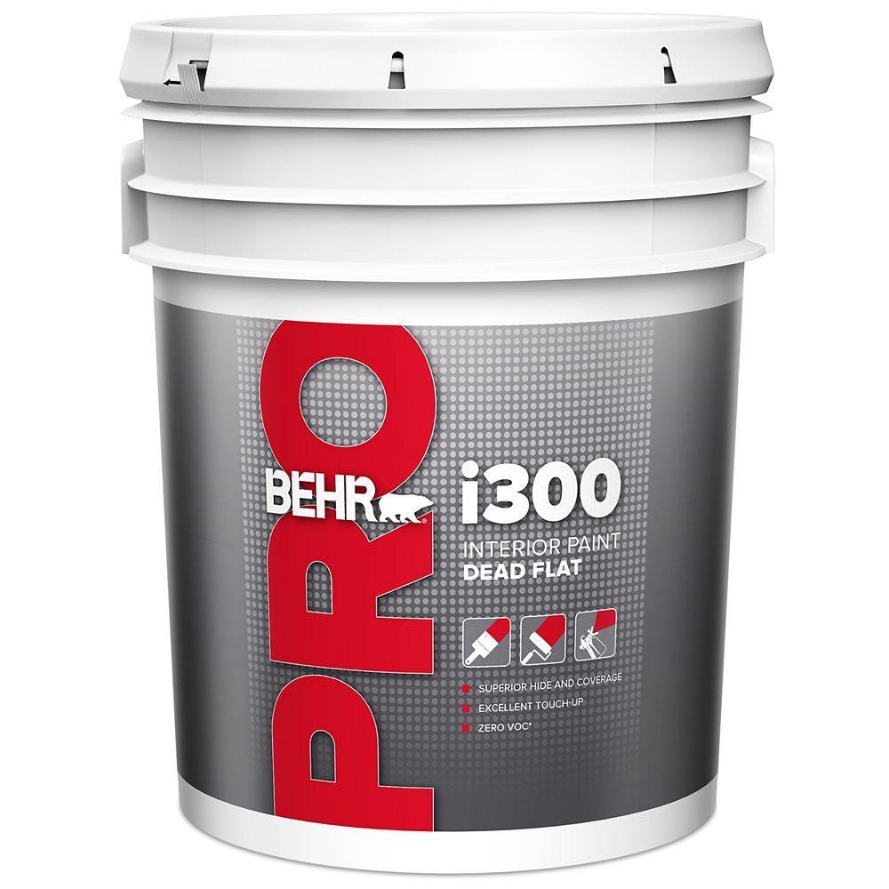 Behr Pro i300 Series, Interior Paint Dead Flat PR313 - Deep Base, 17.1 L