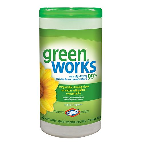 Cleaning Wipes, Original (62-Count)