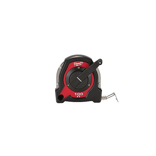 Milwaukee Tool 100-Foot Closed Reel Long Tape Measure