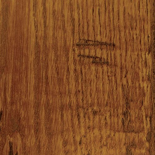 Rustic Brown Oak 12mm Thick x 8.03-inch W x 47.64-inch L Laminate Flooring (Sample)