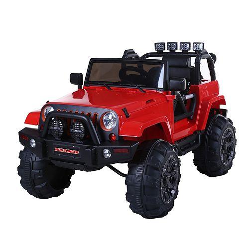 Kidsquad Mudslinger 12V Riding Toy in Red