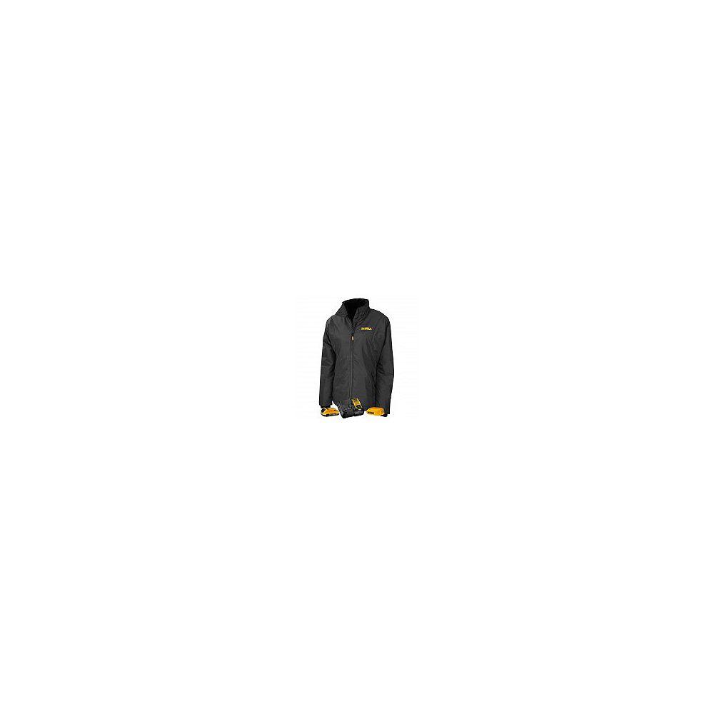 DEWALT Veste matelassée/chauffante 12V/20VMax  grise/noire pour femme avec kit batterie