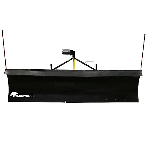 Heavy-Duty 82 inch. x 19 inch. Snow Plow for Jeeps, Smaller Trucks and SUVs