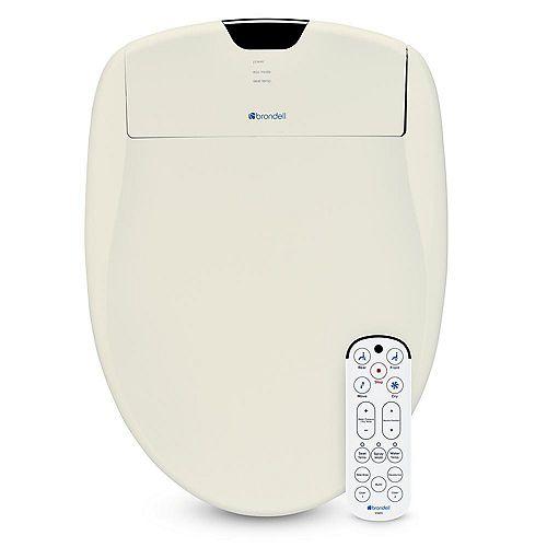 Brondell Swash 1400 Luxury Bidet Toilet Seat-Elongated, Biscuit