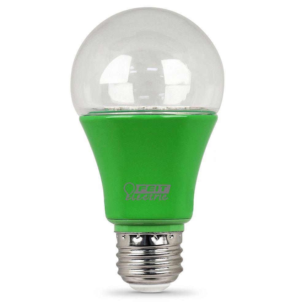 Feit Electric Ampoule DEL de la croissance des plantes A19 équivalente de 60 watts, Base Moyen E26 d'usage intérieur,  effet de Serre du spectre complet
