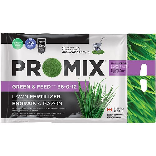 Green & Feed Lawn Fertilizer 36-0-12