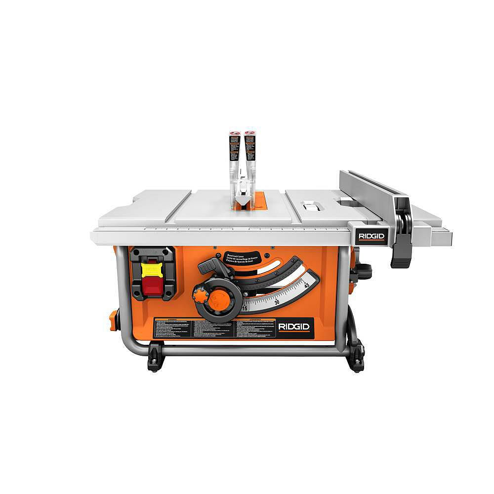 RIDGID 15 Amp Corded 10-Inch Compact Table Saw