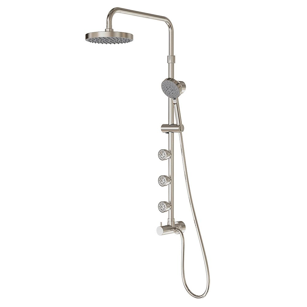 PULSE ShowerSpas Nickel brossé Pulse Lanikai Spas de douche