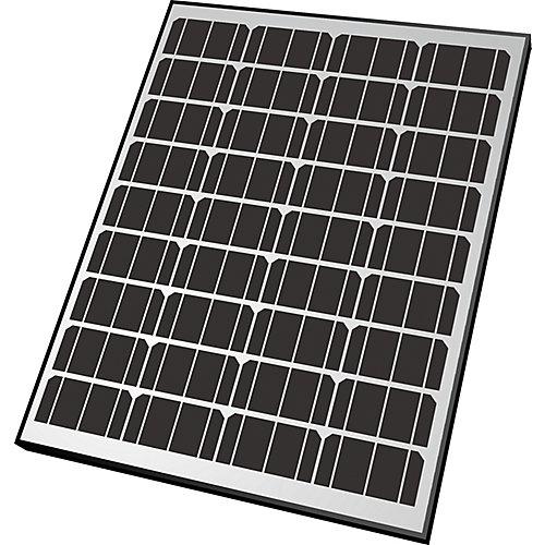 Panneau solaire monocristallin de 90W pour recharge de 12V