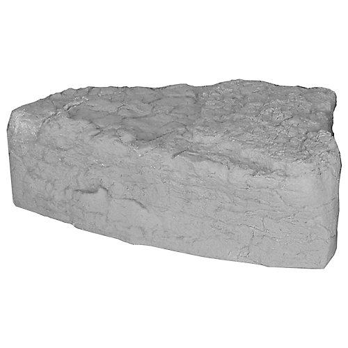 Landscape Rock - Left Triangle in Grey/Armor Stone