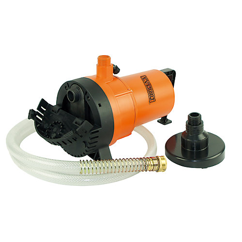2-In-1 1/4 HP Submersible Electric Utility Pump