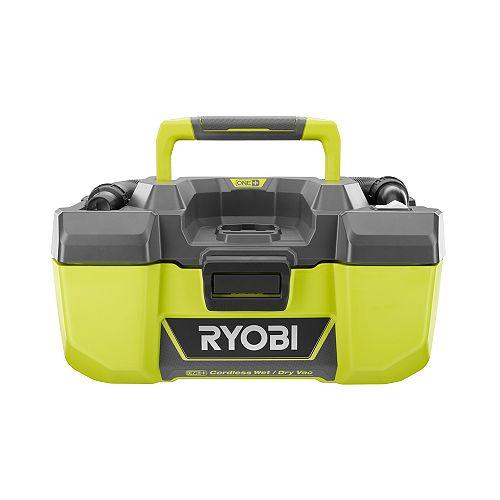 18V ONE+ Aspirateur eau et poussière 3 Gal avec stockage accessoire (Tool-Only)