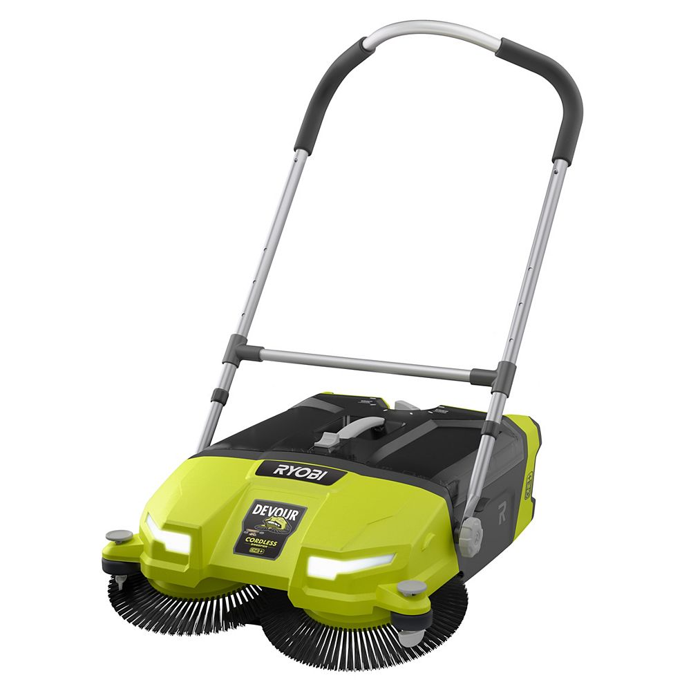 RYOBI 18V ONE+ 4.5 Gal. DEVOUR Cordless Debris Sweeper (Tool-Only)